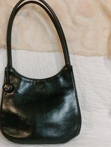 Original Monsac Black Leather Hobo